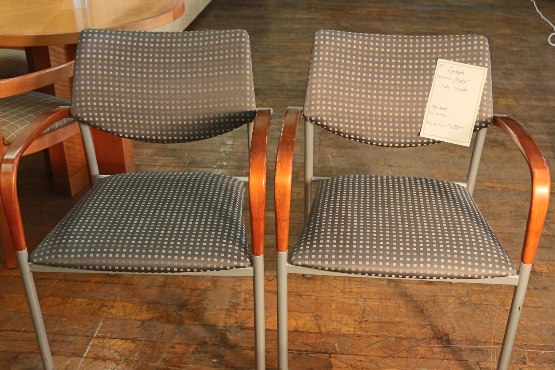 Gunlocke Molti side chairs