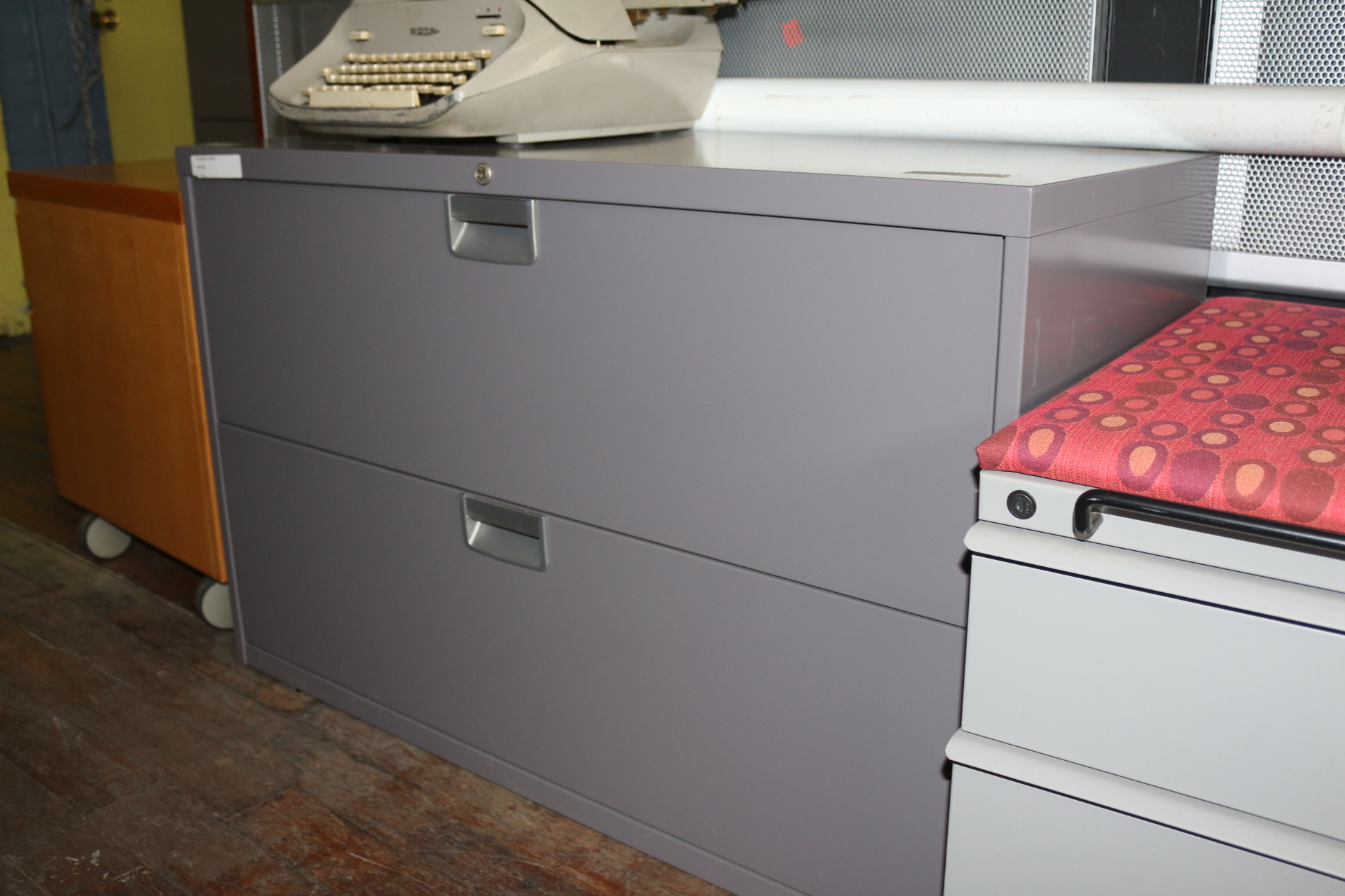 Steelcase 42″ 2 Drawer File Cabinet (Used)