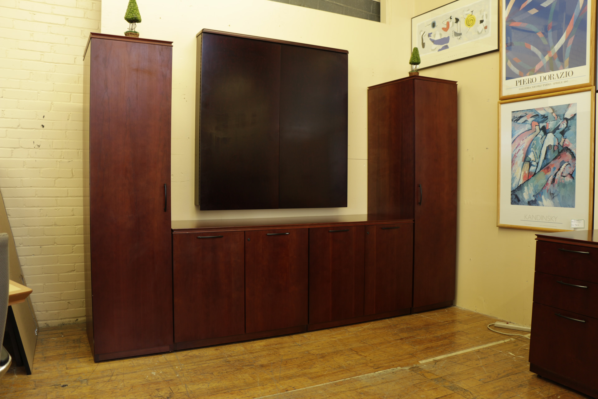 Paoli Conference Center Wall Unit (Used)