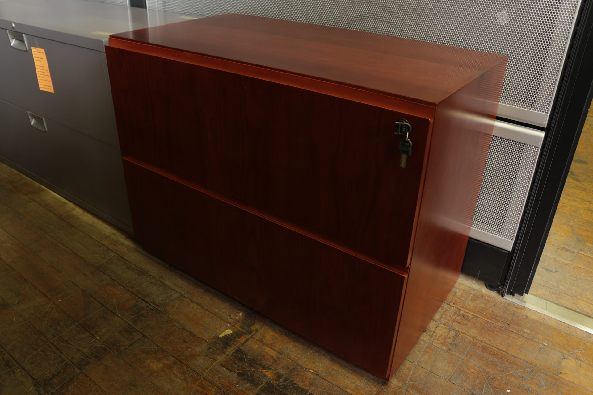 New Baldwin Series Cherry 2 Drawer Lateral File Cabinet