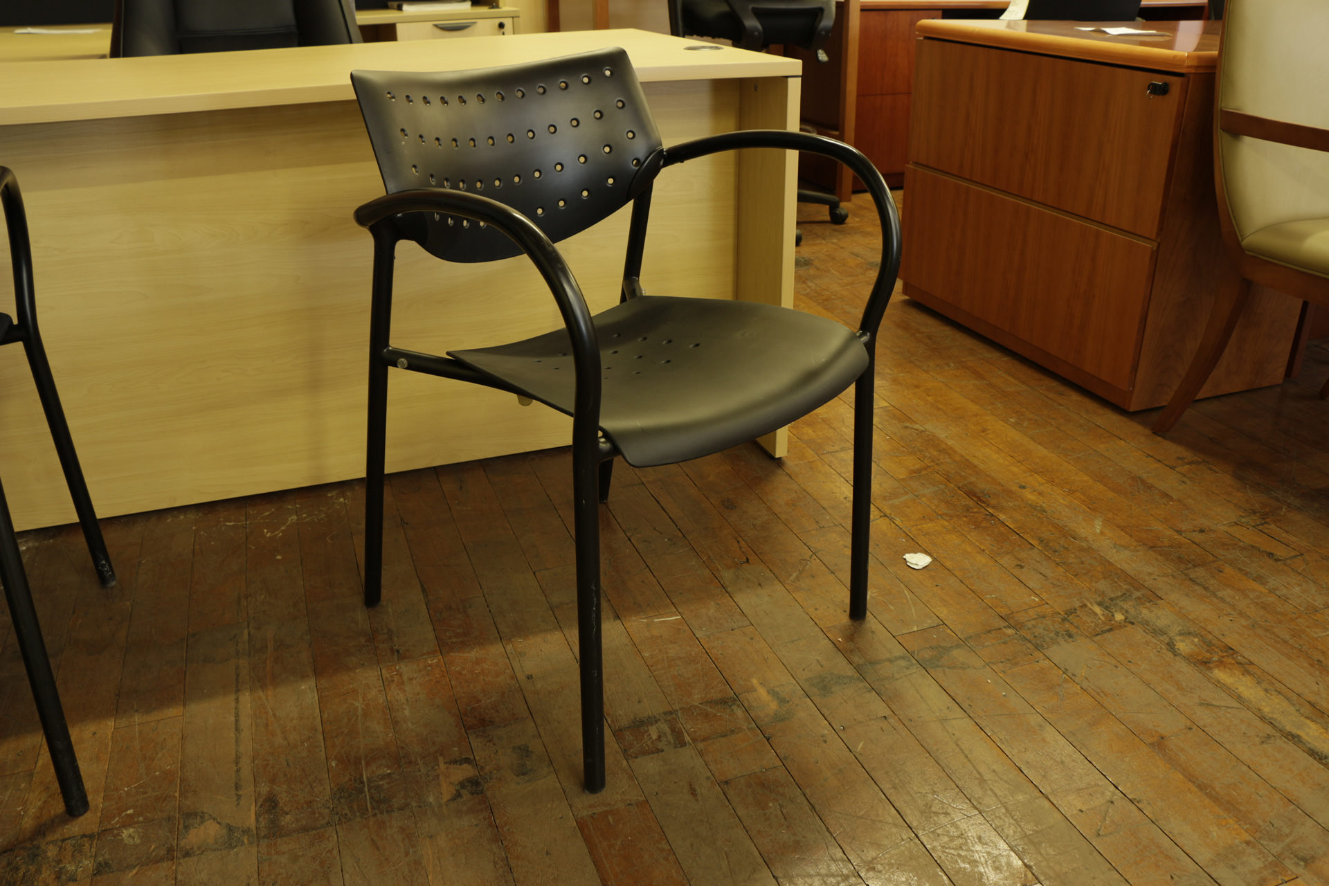 Keilhauer Black Stack Chairs (Used)