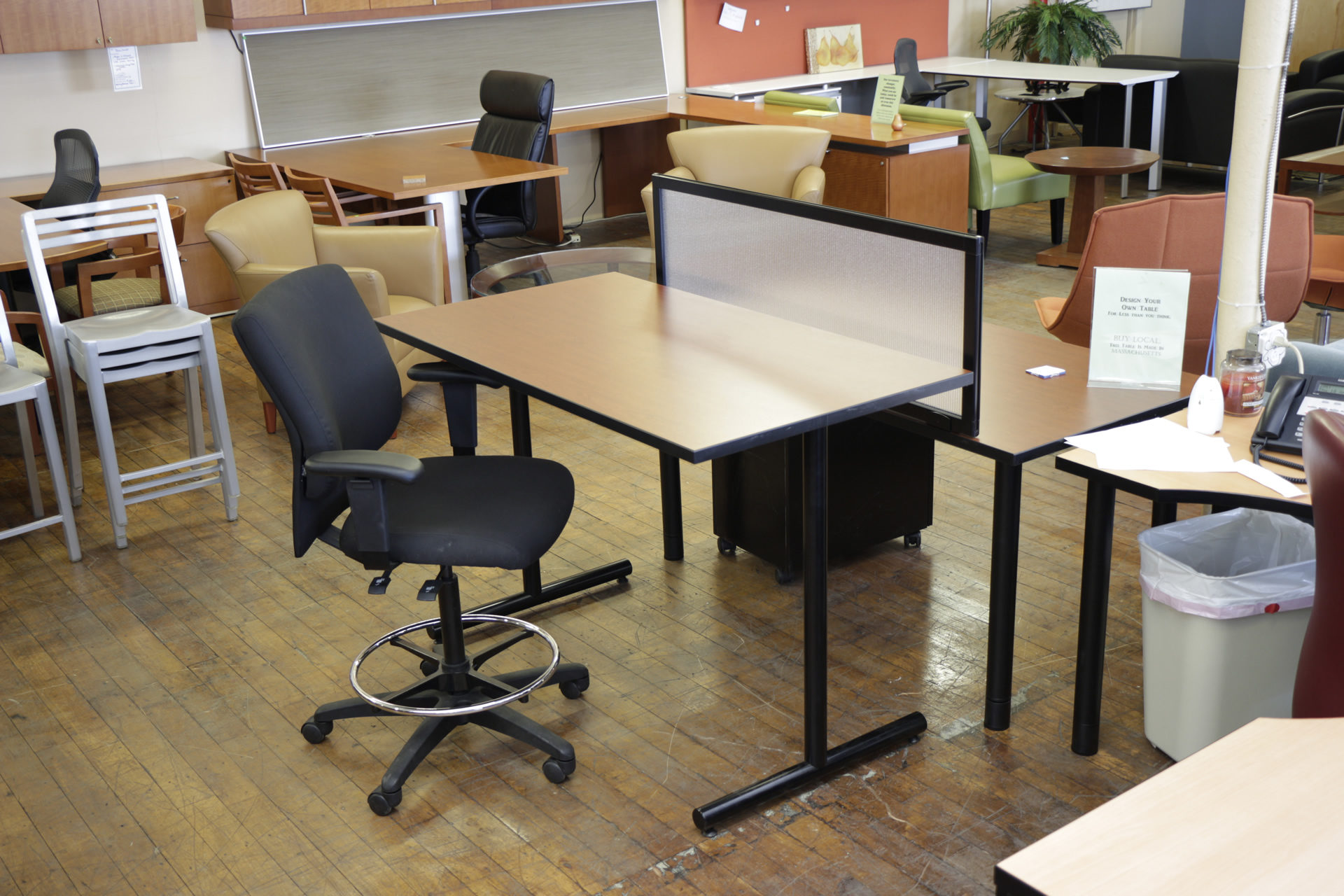 Custom 30″ x 54″ Bar Height Laminate Table Desks