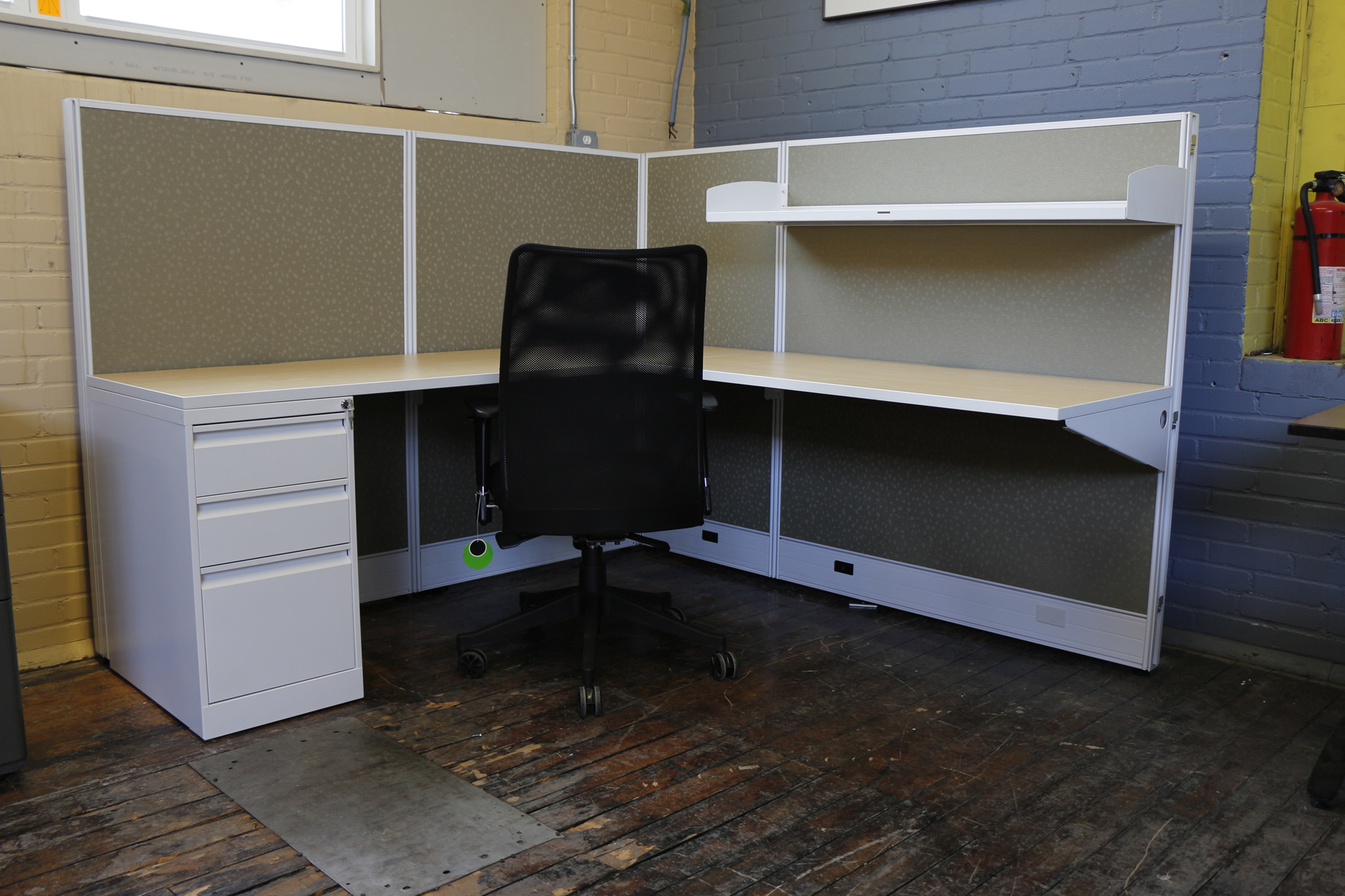 Evolve Systems 'Compile' Cubicles