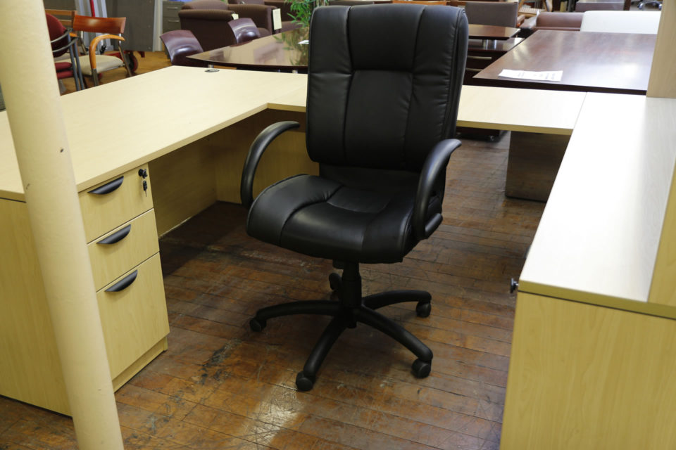 Black Luxhide Executive Chair OTG2700