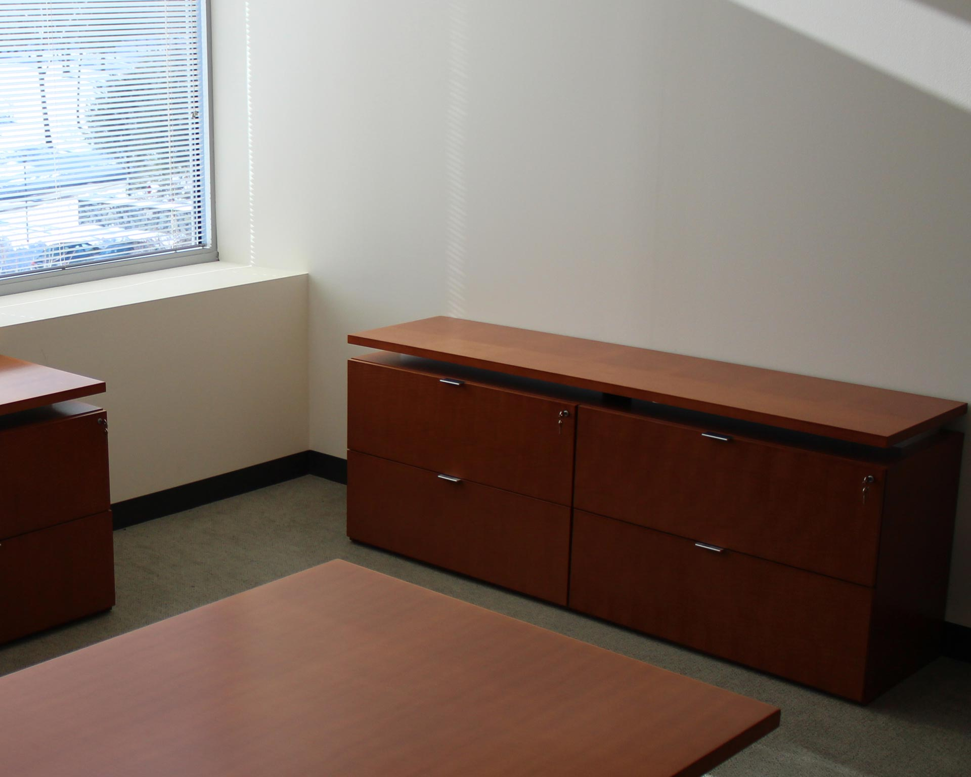 Bernhardt 4 Drawer Lateral File Credenza Peartree Office