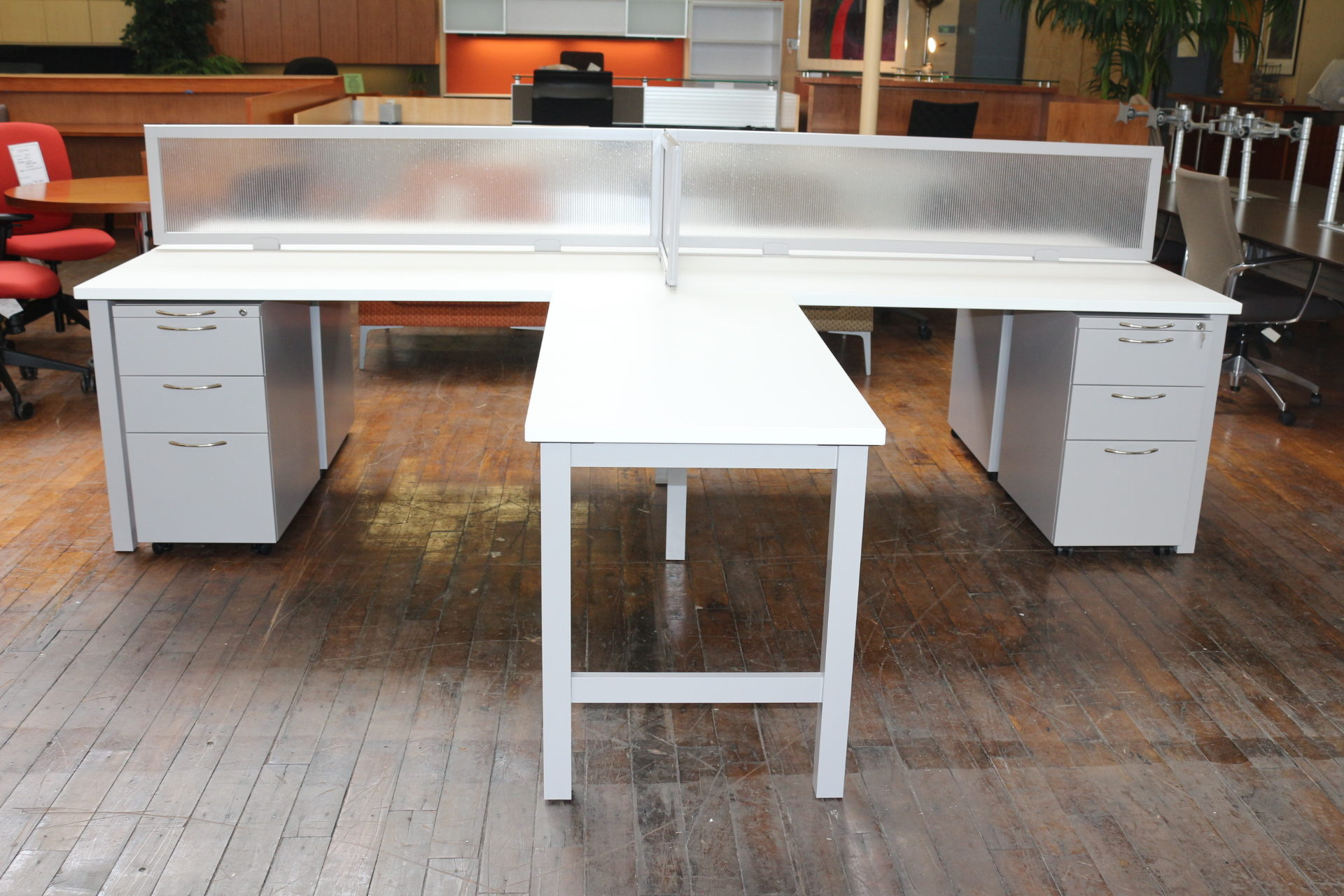 "New Peartree ""Trend"" Custom Benching Systems"