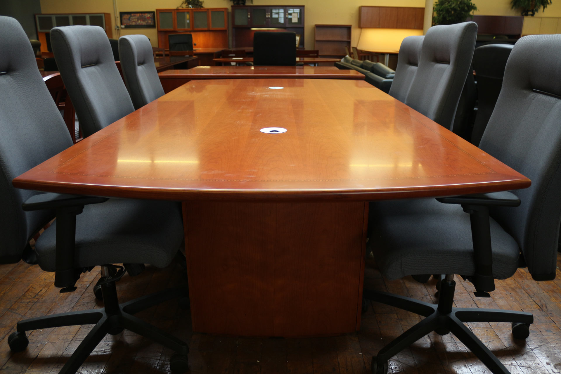 Peartree 'Sienna' Cherry 10′ Conference Table