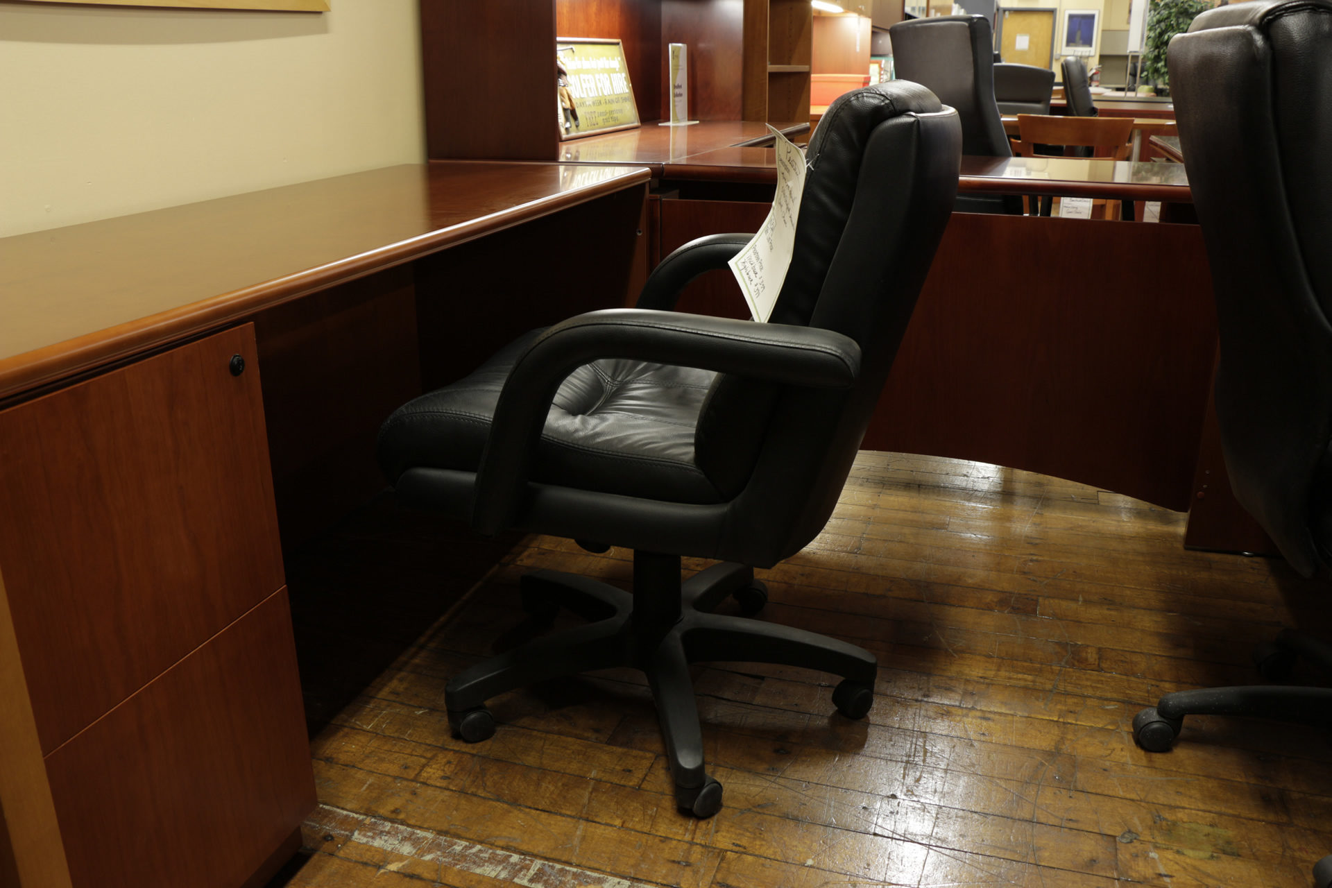 'The Admiral' Overstuffed Executive Chair
