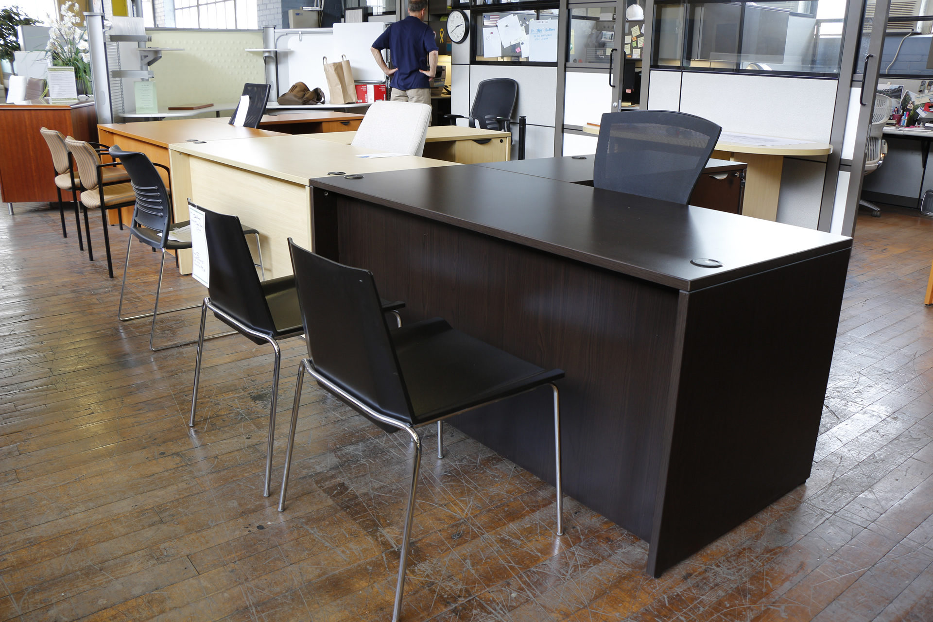Warren Series Laminate 66″ x 78″ L-Desks