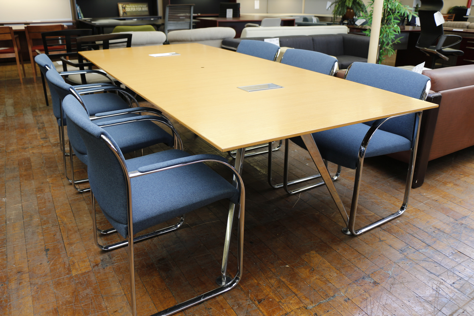 Bernhardt Parallax 8 39 Conference Table Peartree Office