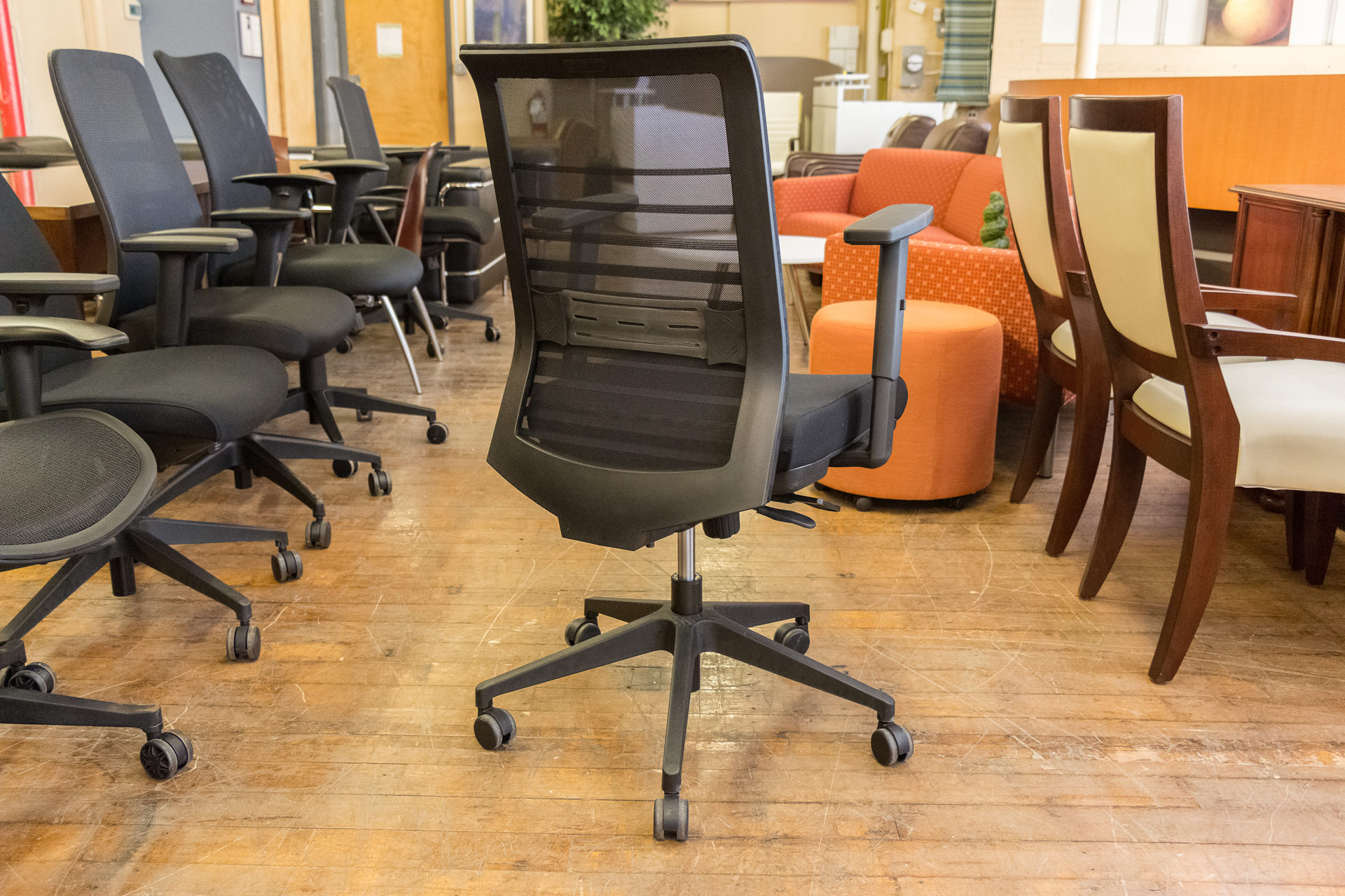 Compel Lucky Mesh Back Task Chairs