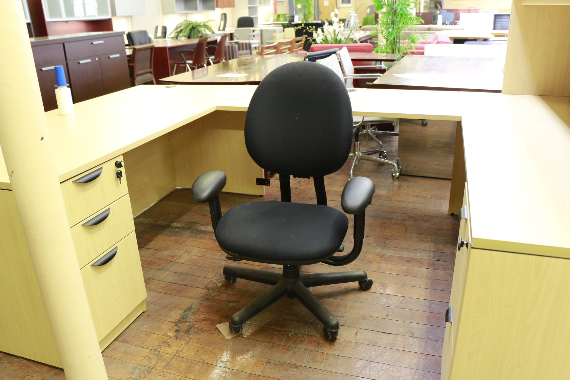 Steelcase Criterion Black Chairs