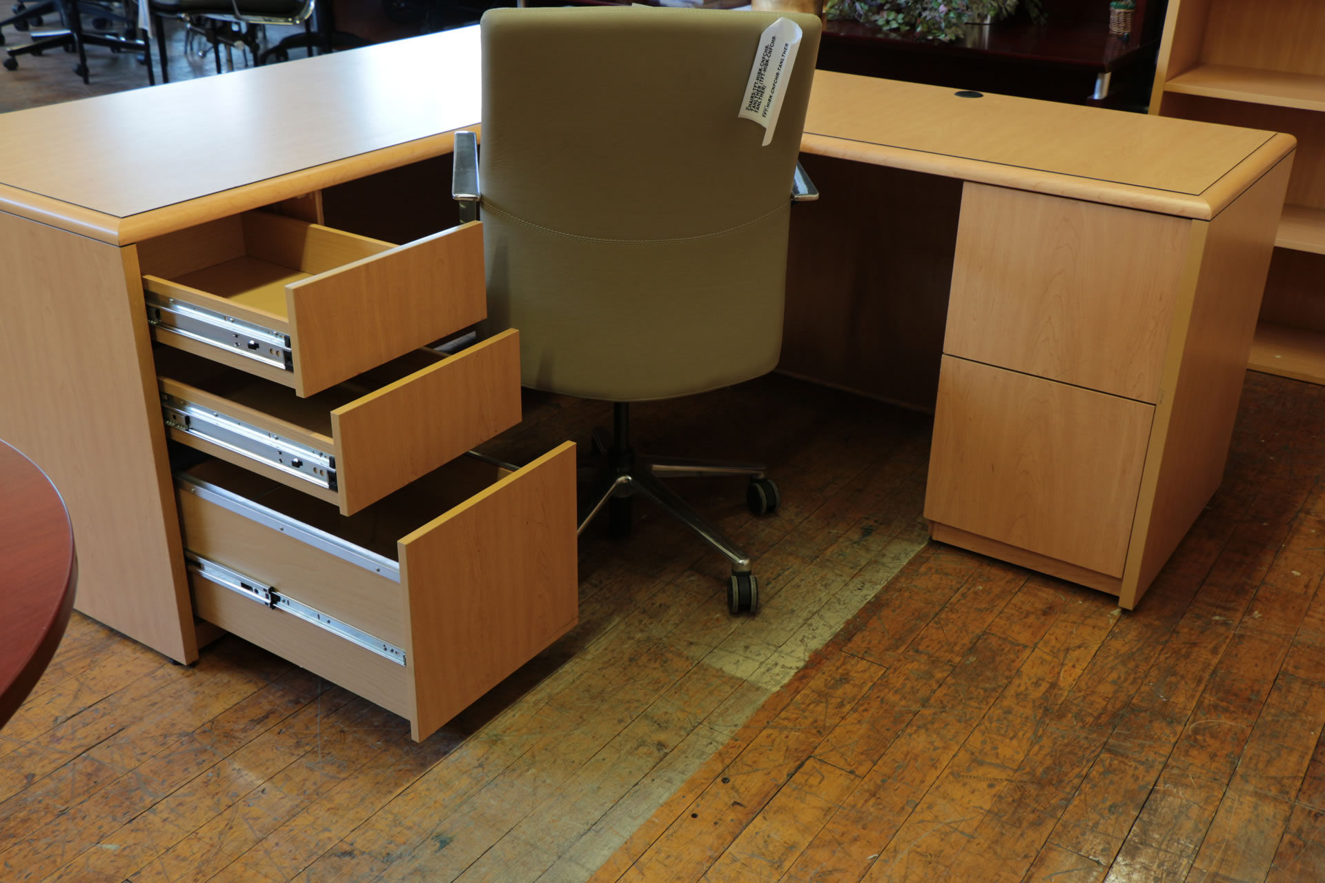 National Arrowood L-Desk's