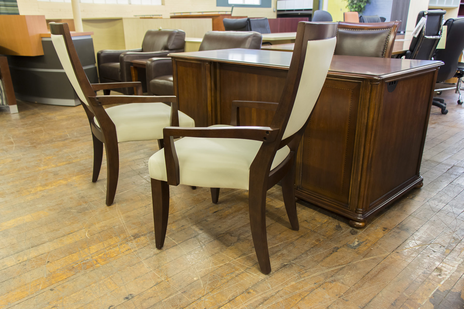 Casana Sherbrook Upholstered Arm Chairs
