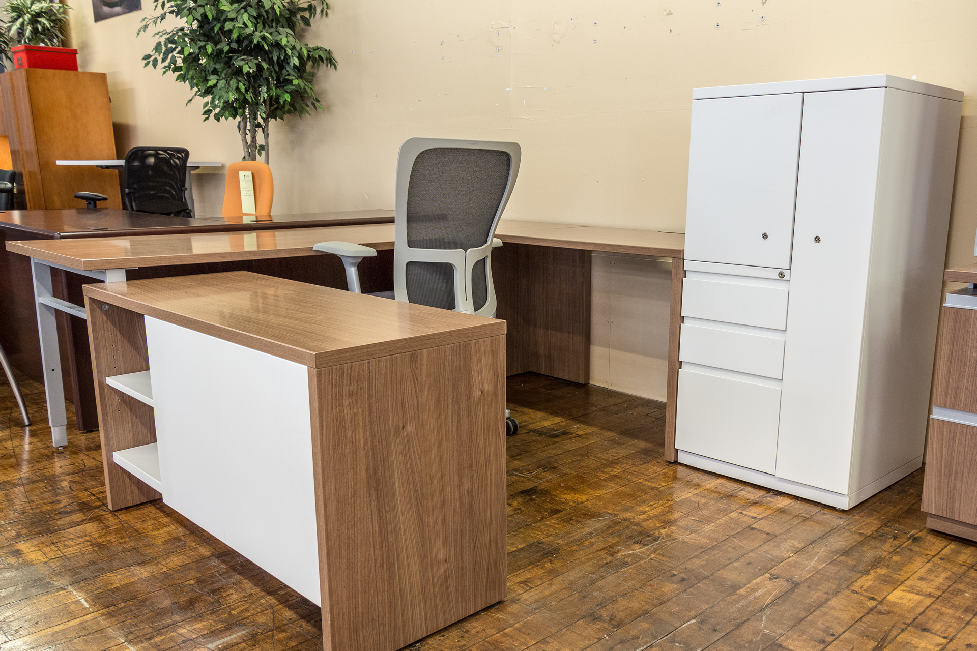 Haworth Masters Desk Suite Peartree Office Furniture