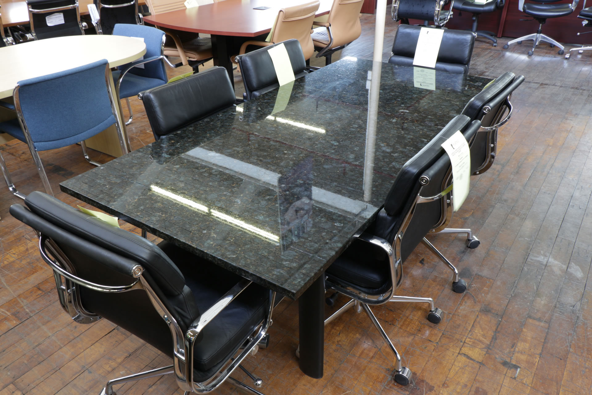 Custom Cassini Marble 6.5′ Conference Table