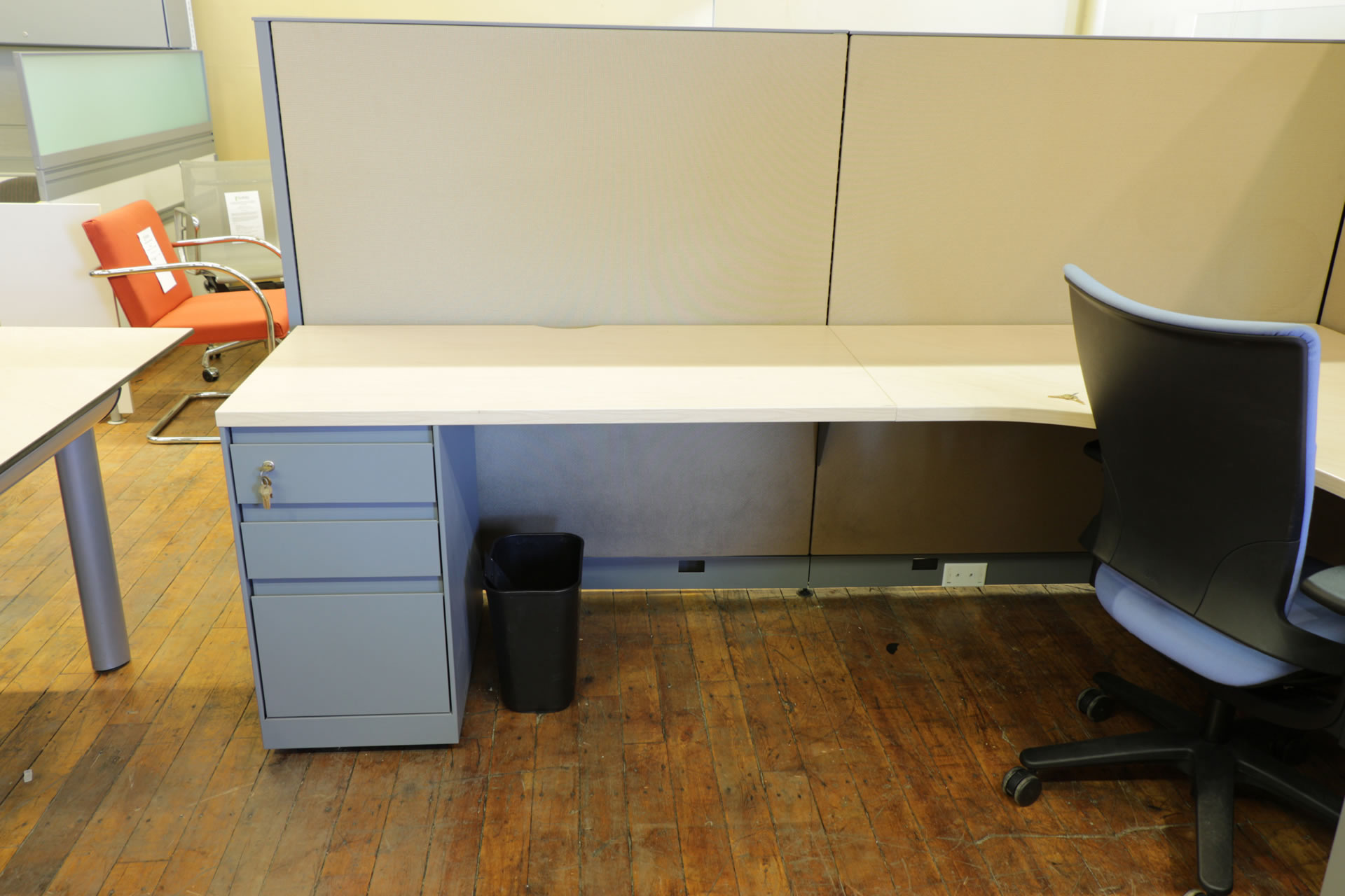 Steelcase Answer 8x8 Cubicles With Overhead Storage O Peartree
