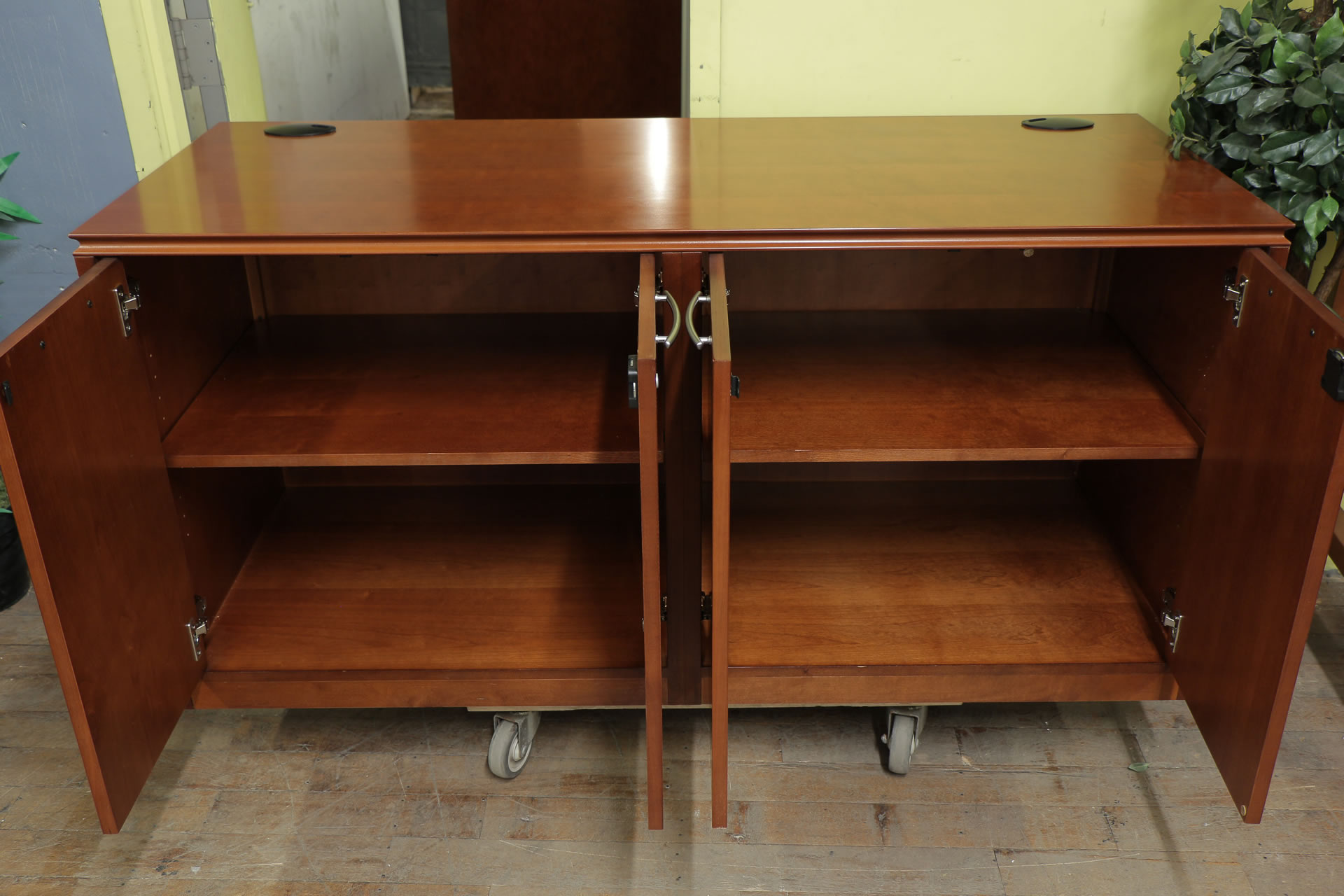 Paoli Cherry Credenza Peartree Office Furniture
