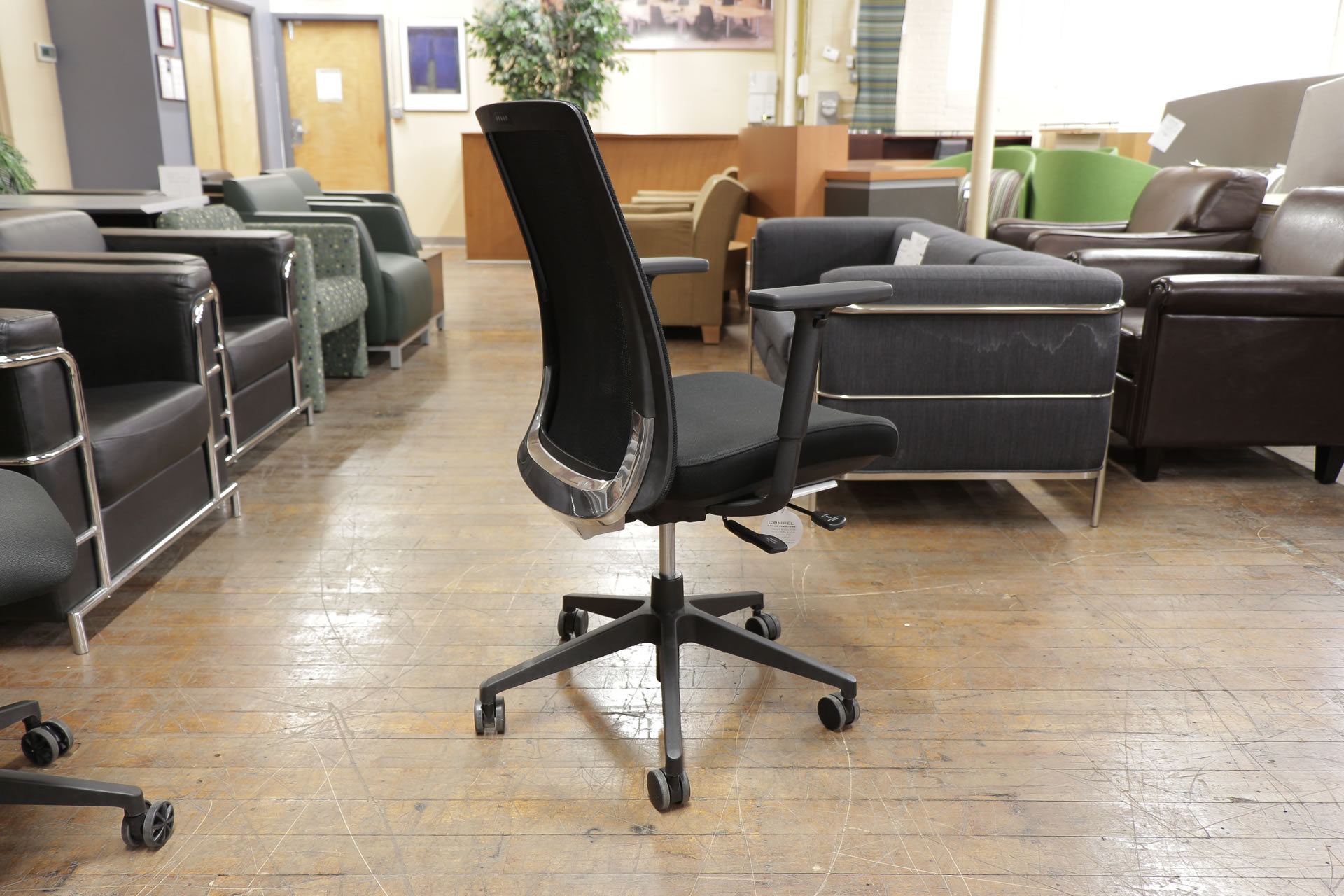 Compel Bravo Mesh Back Task Chairs