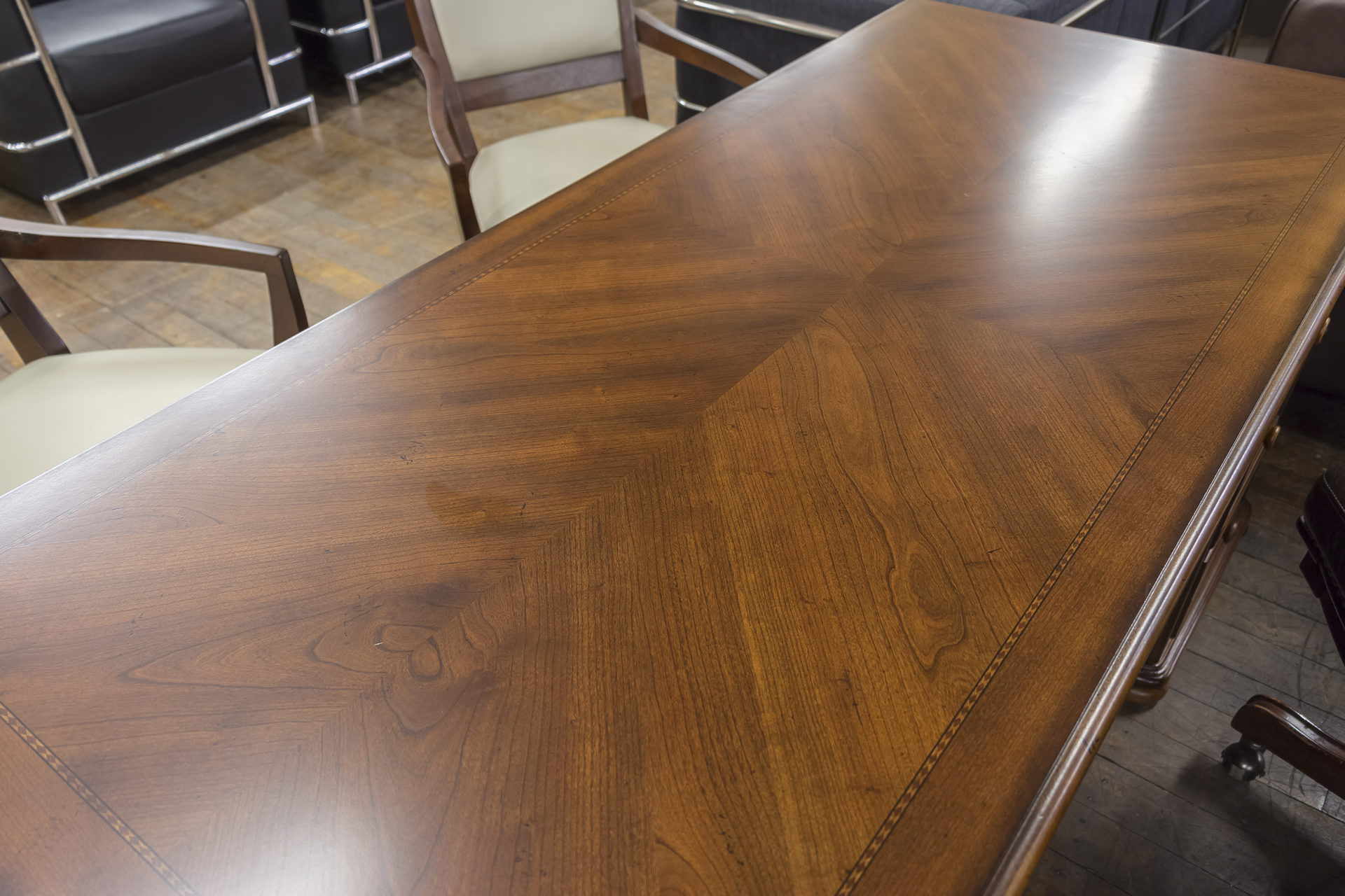 DMI Traditional Veneer Executive Desks