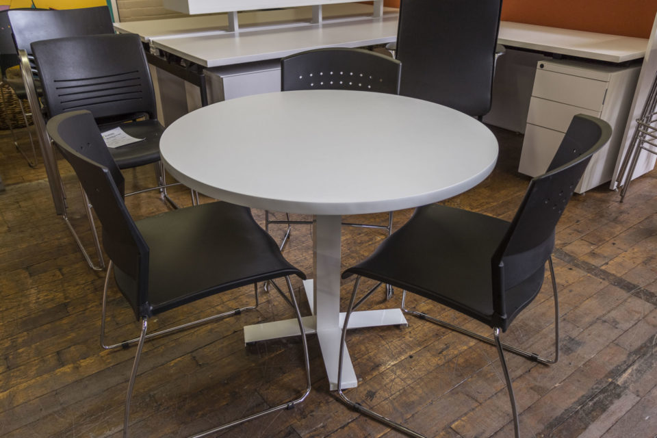"""New Peartree 36"""" Laminate Cafeteria Tables"""