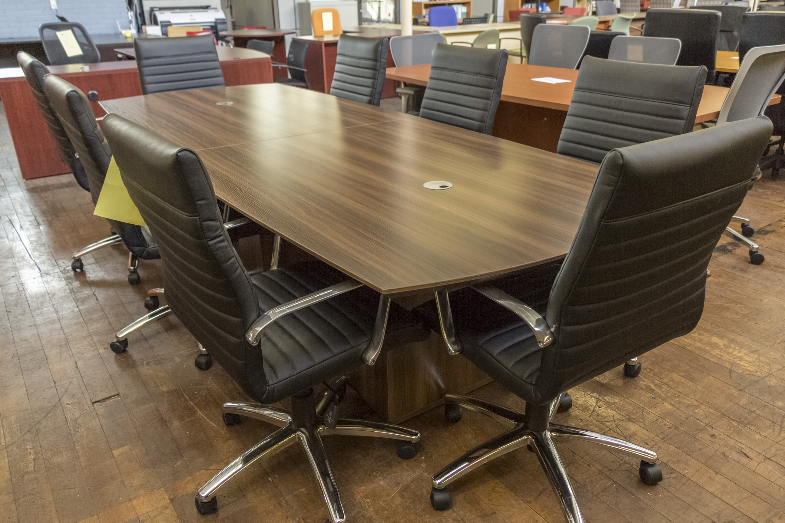 Peartree Sienna Laminate Boat Shaped Conference Tables