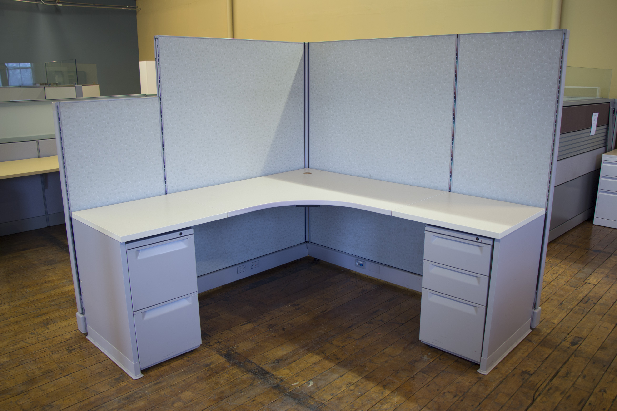 Herman Miller AO2 Cubicles In 6x6 6x8 And 8x8 O Peartree Office Furniture