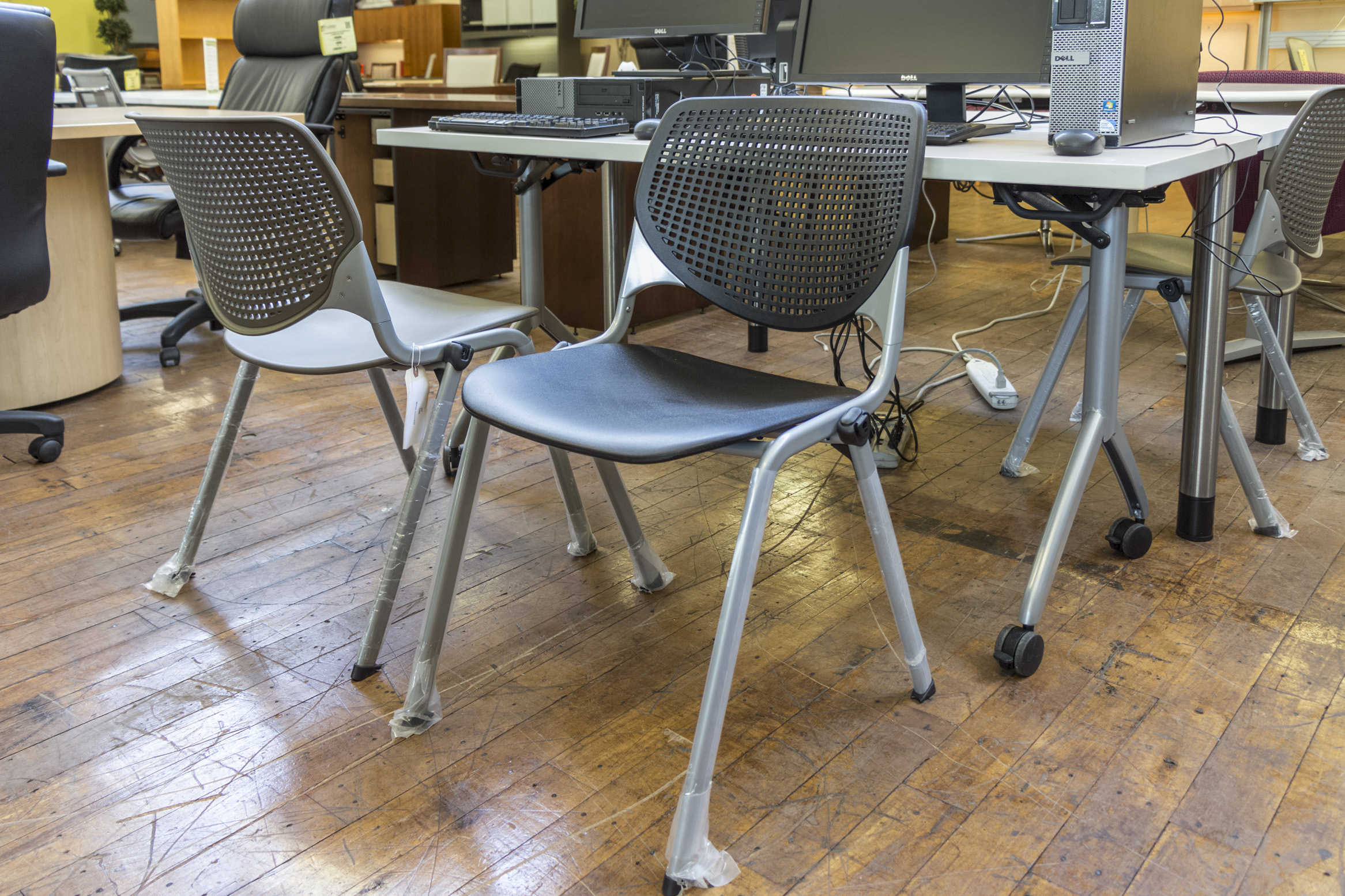 Peartree Polystack Chairs Peartree Office Furniture