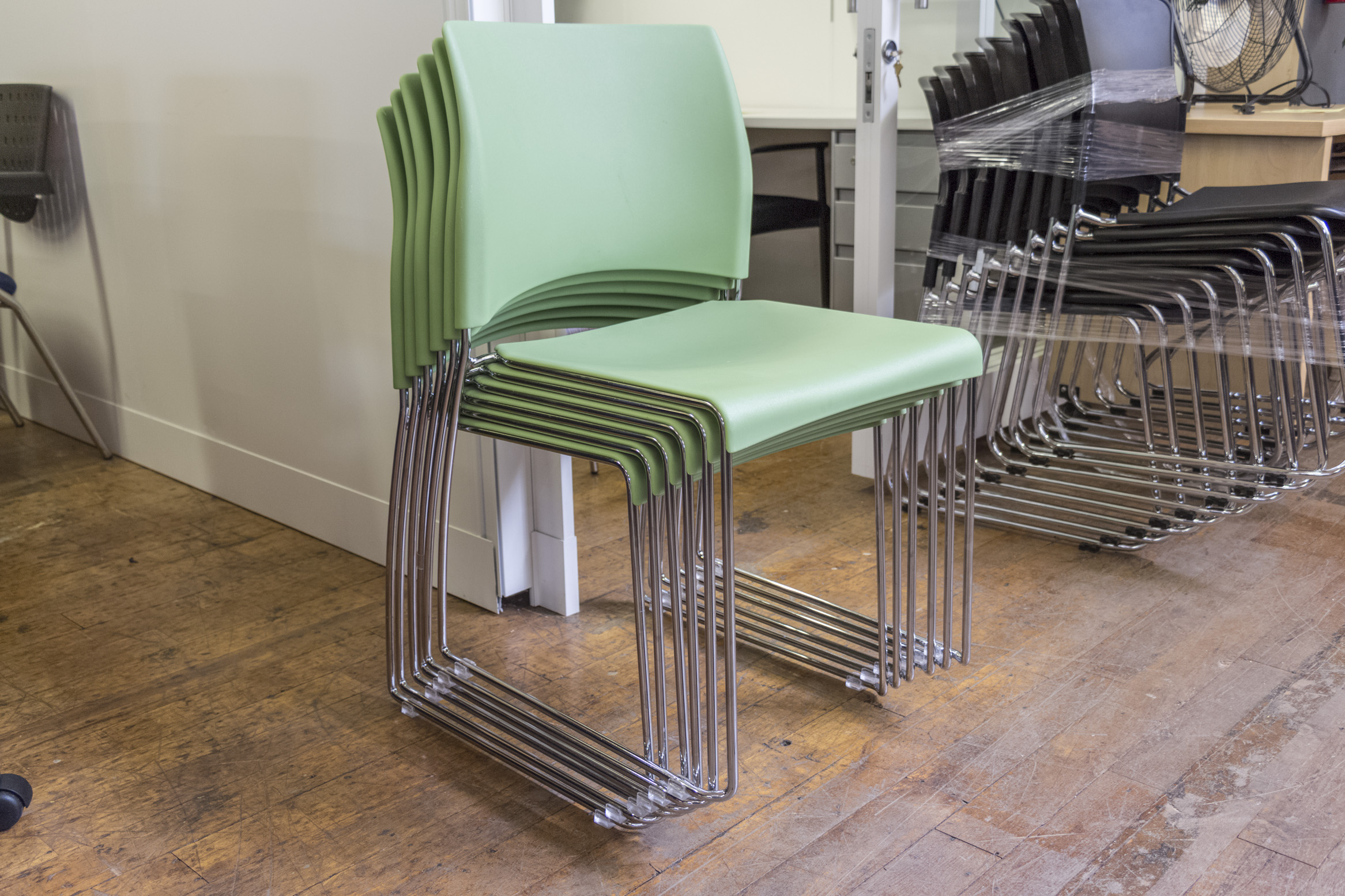 allsteel nimble stacking chairs peartree office furniture