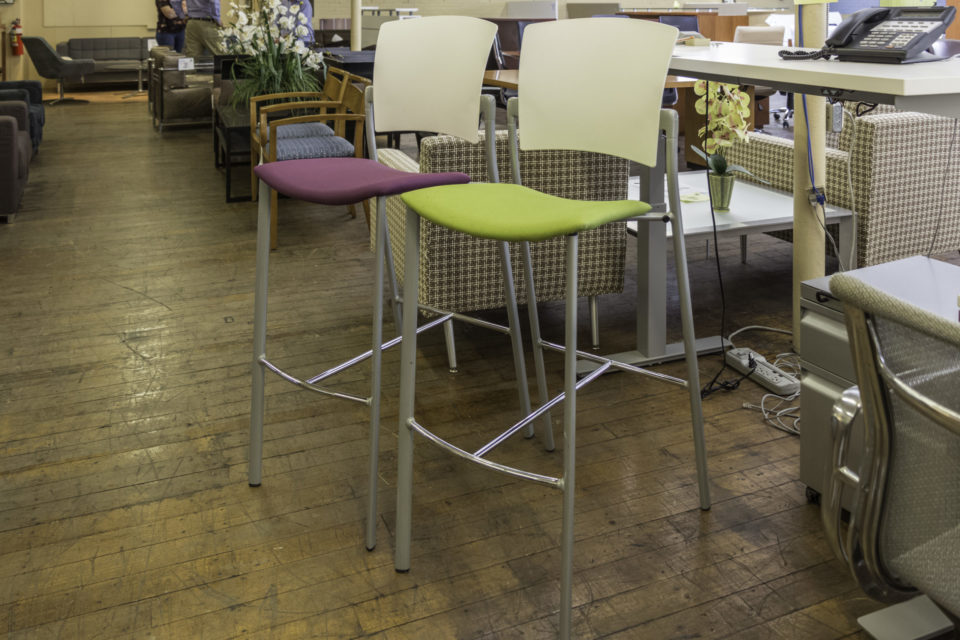 Coalesse Enea Bar-Height Stools without Arms