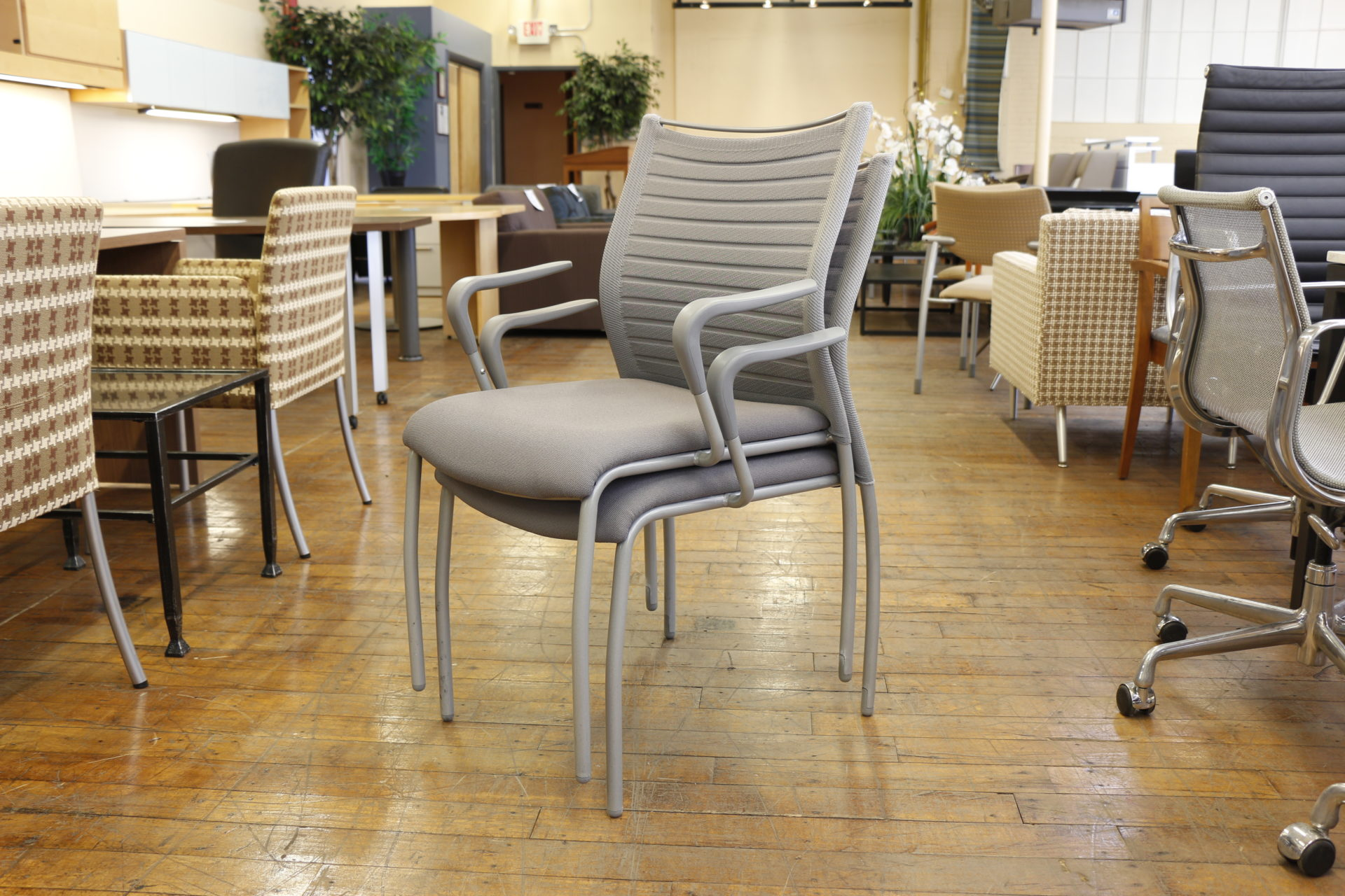 Source International Purl Guest Stacking Chairs