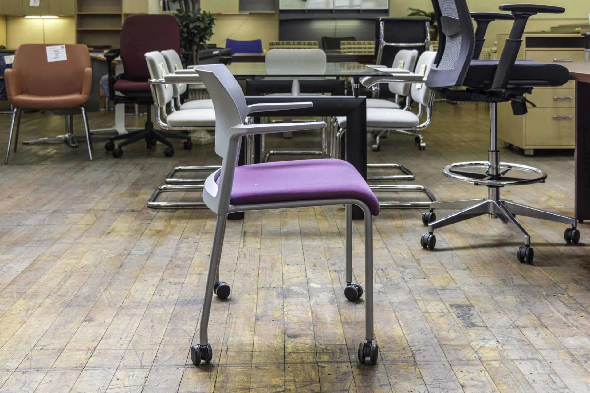 Steelcase Move Guest Chairs with Casters