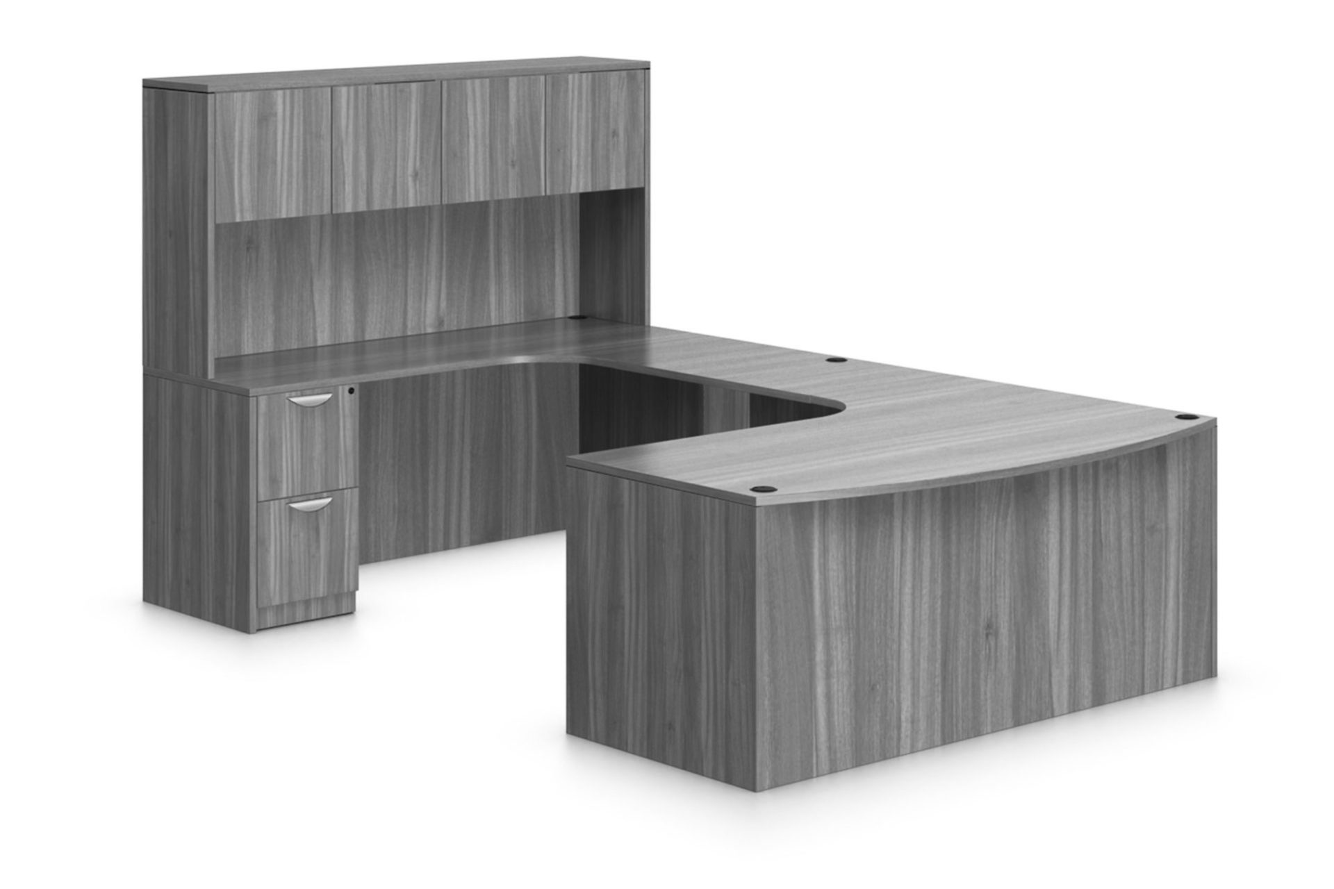 warren-series-u-shaped-bow-front-laminate-desks-with-rounded-corners-overhead-storage