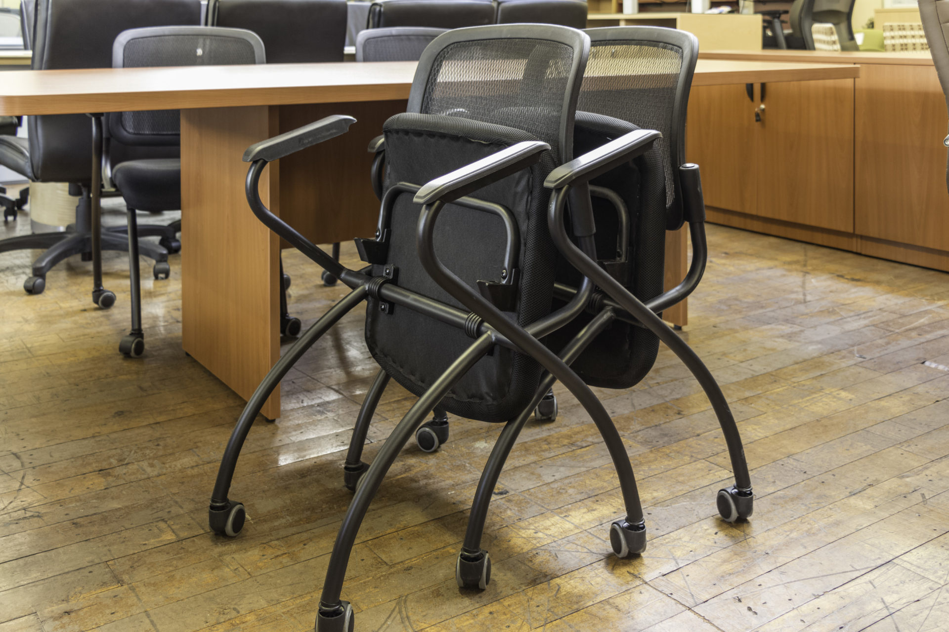 SX W4321 Mobile Nesting Chairs