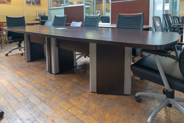 Artopex 12 Espresso Laminate Conference Table