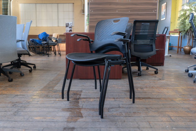 Herman Miller Caper Stack Chairs