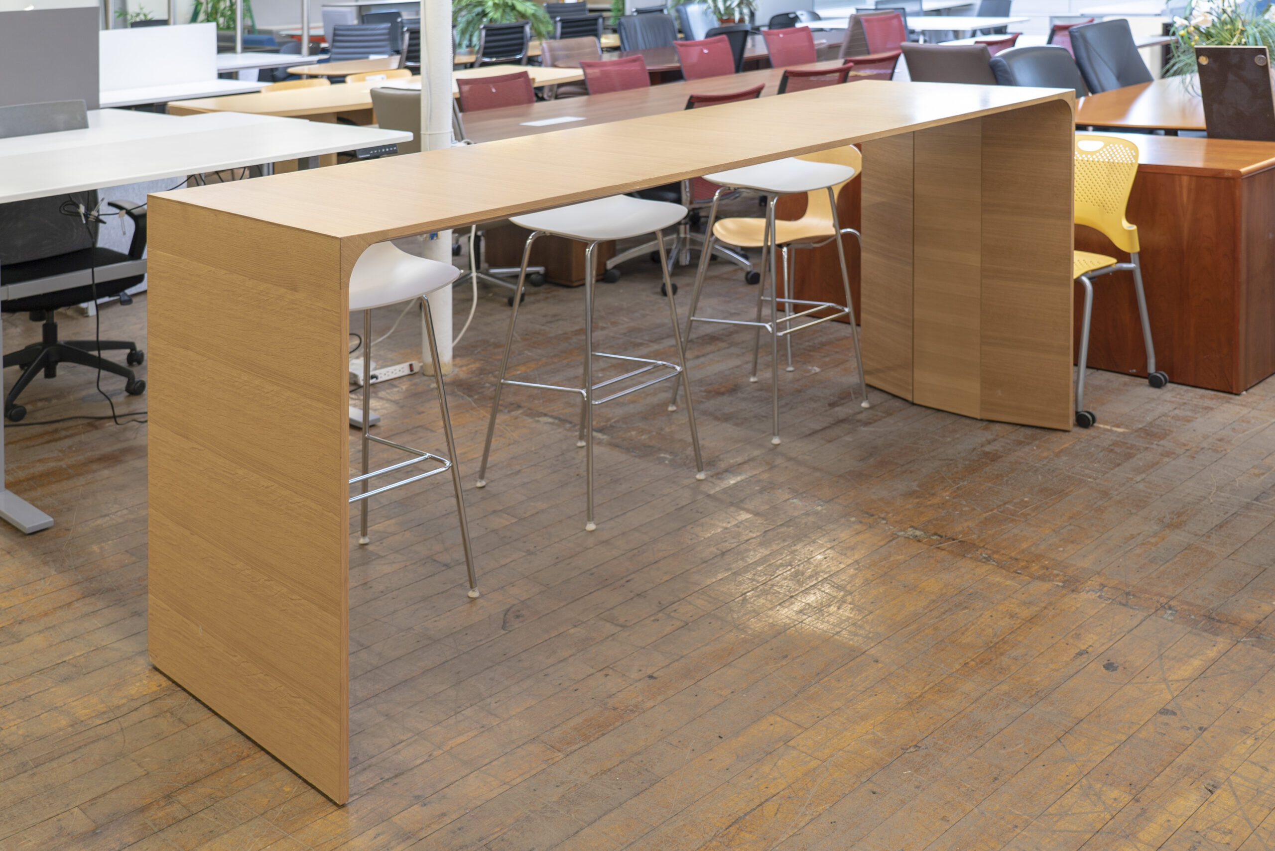 Steelcase Campfire Slim Bar Height Table